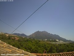 view from Callosa d'en Sarrià - Serra de Bèrnia on 2017-07-16