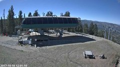view from Angel Fire Resort - Chile Express on 2017-10-16