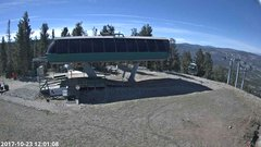 view from Angel Fire Resort - Chile Express on 2017-10-23