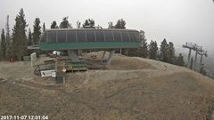 view from Angel Fire Resort - Chile Express on 2017-11-07