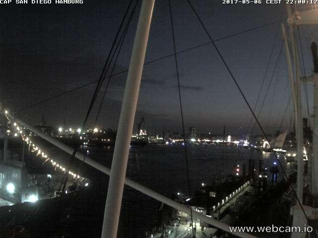 time-lapse frame, 828. Hafengeburtstag webcam
