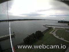 view from Willkommhöft Westen  on 2017-08-05