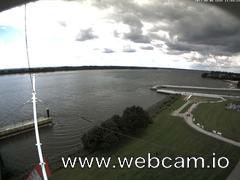 view from Willkommhöft Westen  on 2017-08-06