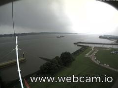 view from Willkommhöft Westen  on 2017-08-12