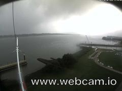 view from Willkommhöft Westen  on 2017-09-06