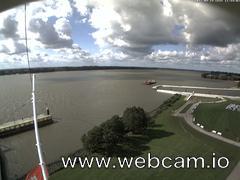 view from Willkommhöft Westen  on 2017-09-14