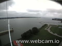 view from Willkommhöft Westen  on 2017-09-16