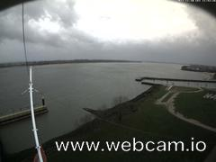 view from Willkommhöft Westen  on 2017-11-10