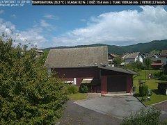 view from VREME ŽIRI-cam-1-SV on 2017-08-11