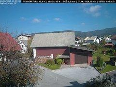 view from VREME ŽIRI-cam-1-SV on 2017-10-14