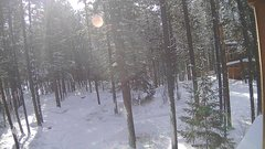view from Cabin on 2018-01-01