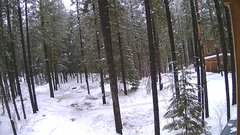 view from Cabin on 2018-01-18