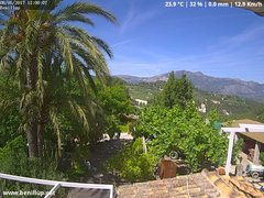 view from Benillup - Serra de Mariola on 2017-05-08