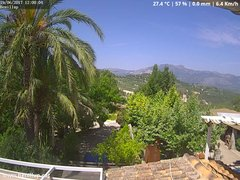 view from Benillup - Serra de Mariola on 2017-06-19
