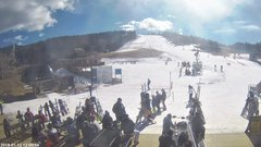 view from Angel Fire Resort - Base on 2018-01-12
