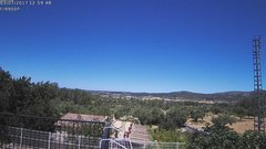 view from Agres - Bonell, el Comtat on 2017-07-03