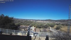 view from Agres - Bonell, el Comtat on 2018-01-16