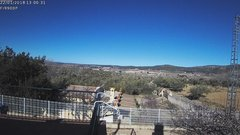 view from Agres - Bonell, el Comtat on 2018-01-22