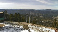 view from Angel Fire West View on 2017-11-20