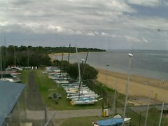 view from Cowes Yacht Club - West on 2017-12-07