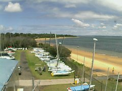 view from Cowes Yacht Club - West on 2017-12-08