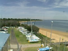 view from Cowes Yacht Club - West on 2017-12-13
