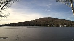 view from Neal Pond on 2017-11-30