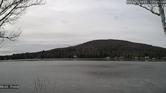 view from Neal Pond on 2017-12-02