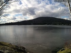 view from Neal Pond on 2017-12-06