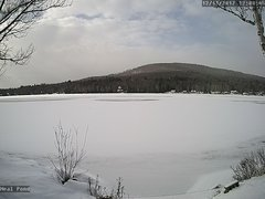 view from Neal Pond on 2017-12-11
