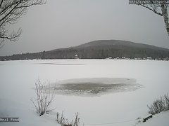 view from Neal Pond on 2017-12-12