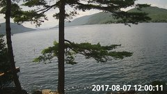 view from Bluffhead Hullets Landing, NY on 2017-08-07