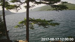 view from Bluffhead Hullets Landing, NY on 2017-08-17