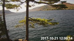 view from Bluffhead Hullets Landing, NY on 2017-10-21
