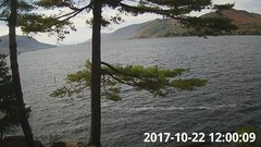 view from Bluffhead Hullets Landing, NY on 2017-10-22