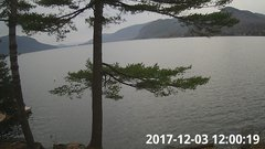 view from Bluffhead Hullets Landing, NY on 2017-12-03