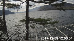 view from Bluffhead Hullets Landing, NY on 2017-12-08