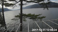 view from Bluffhead Hullets Landing, NY on 2017-12-11