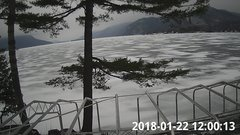 view from Bluffhead Hullets Landing, NY on 2018-01-22