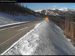 view from 4 - Highway 50 Road Conditions on 2017-12-04