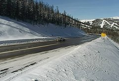 view from 4 - Highway 50 Road Conditions on 2018-01-14