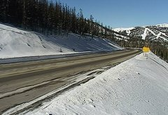 view from 4 - Highway 50 Road Conditions on 2018-01-17