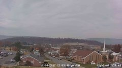 view from Highland Park Hose Co. #1 on 2017-12-04
