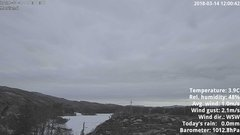 view from 1 Sotra island, W-Norway on 2018-03-14