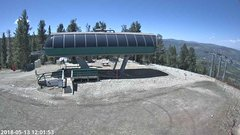 view from Angel Fire Resort - Chile Express on 2018-05-13