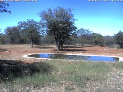 view from Sophienhof Lodge Waterhole on 2018-05-21