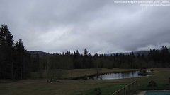 view from Olympic View Cabins Hurricane Ridge Cam on 2018-03-14