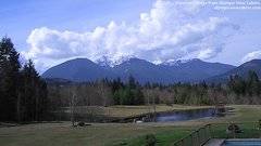 view from Olympic View Cabins Hurricane Ridge Cam on 2018-03-17
