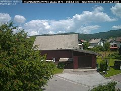 view from VREME ŽIRI-cam-1-SV on 2018-06-10