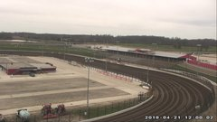 view from Eldora Speedway on 2018-04-21
